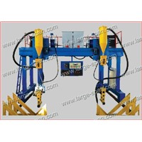 h beam steel gantry welding machine