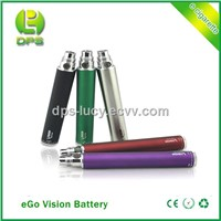 650/900/1100/1300mah Varaiable Voltage eGo Twist eGo Vision Battery