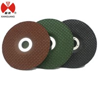 Abrasive flexible silicon carbide grinding wheel