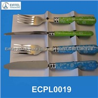 Promotional cutlery with plastic handle (ECPL0019)