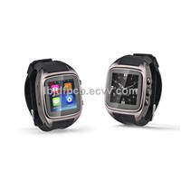 LBJD306 latest Watch Phone,Touch Screen,Metal Body,built in SIM card Android 4.2,3G,WIFI,GPS,camera,