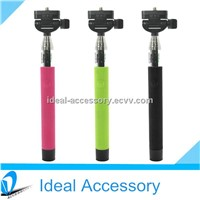 Self Portrait Stick Bluetooth Wireless extendable Handheld Monopod Hot selling From Stock