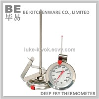 Stainless steel candy jelly deep fry thermometer