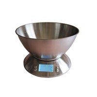 stainless steel bowl digital kitchen scales with weights