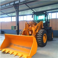 hydraulic 3t wheel loader with weifang engine