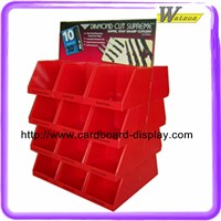 recycle material Eco-friendly supermarket cardboard promotional pallet display