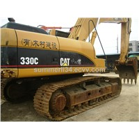 original CAT 330C crawler excavator original