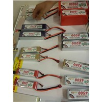 high rate LiPo battery for rc models, factory price