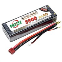 5800mAh rc car lipo battery, 3s rc car battery
