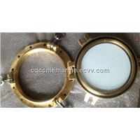 marine side scuttle / window / porthole with hook for boat