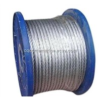 Galvanized wire for vineyard, steel wire rope