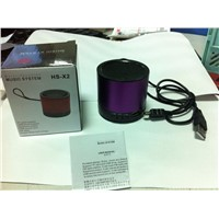 Mini and Reasonable Price Speaker with FM/TF Card/U Disk Function
