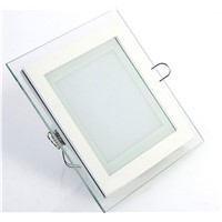 Ultra Slim Cct Changeable Glass LED Ceiling Light 6W