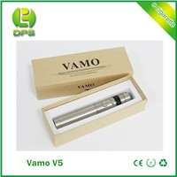 variable voltage 3.0~6.0V ecigator mechanical mod Vamo V5 Starter Kit