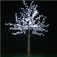 White Color LED Cherry Tree