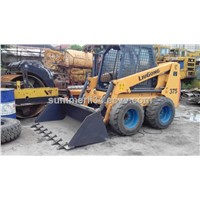 used LiuGong 375 skip steer loader