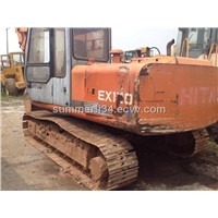 used Hitachi Japan made excavator Ex120 excavator