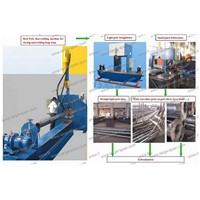 High mast assembling assembly machine
