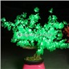Single Color Mini Cherry Blossom Maple/Pine Leaves LED Outdoor Garden Tree