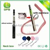 Colorful eGo Lanyard Ring eGo Necklace for eGo eCigarette