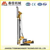 KR125M Hydraulic rotary drilling rig, Heavy construction equipment