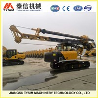 KR80A Hydraulic rotary drilling rig for groundwork