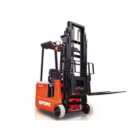 Three Wheel AC Electric Forklift Trucks