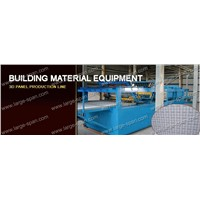EPS cement 3d wall panel production line