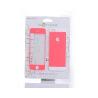 Tempered Glass Screen Protector for iPhone 5/5S (0.3mm) Pink