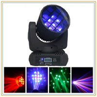 Beam Moving Head 4in1 Cree Led Stage Lighting Fixtures 12 x 10W RGBW