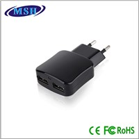 Dual USB Wall Charger with CE ROHS EUP from MSH