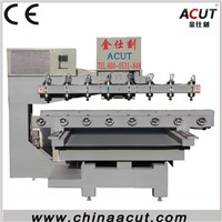 8heads rotary axis cnc router