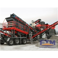 Movable mobile stone jaw crusher price