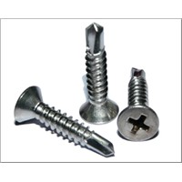 countersunk head self-drilling screw