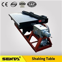 Mineral Processing Chrome concentrating gravity separating shaking table