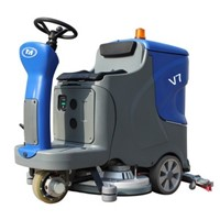 automatic scrubber sweeper