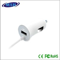 factory supplier 2.1a 8pin for iphone 5 usb car charger