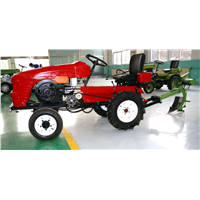 four wheels 12hp small type tractor, farm machine