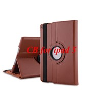 Lychee Pattern Leather Case For Ipad 5 Air Luxury Retro Luxrury Tablets Accessories Cover