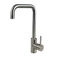 Deck mounted kitchen faucet stainless steel water tap AGCP04