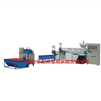Granulator machine for recycling wasete plastic