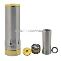 E-cigar Hades Mod Clone 1:1 with 26650 Battery and Stainless Steel Body