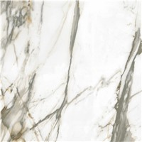 60x60 Crystal Glazed Floor White Marble Tiles