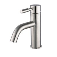 Single handle stainless steel basin faucet AGLP01
