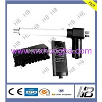 High speed electric linear actuator for folding chair