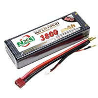 3800mAh 11.1V 3S 1P 25C Lipo battery for RC Car    high rate LiPo battery