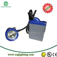 GLT-7B anti-explosive 10000lux at 1 meter high brightness led cap lamp