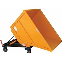 STEEL COLLAPSIBLE DUMPSTER - ABACO -