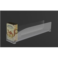 Acrylic Auto Feed Cigarette Dispenser with Pusher Supermarket Racks