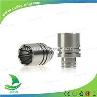 2014 Speical design 510 Stainless steel Search lamp drip tips with wide bore drip tips